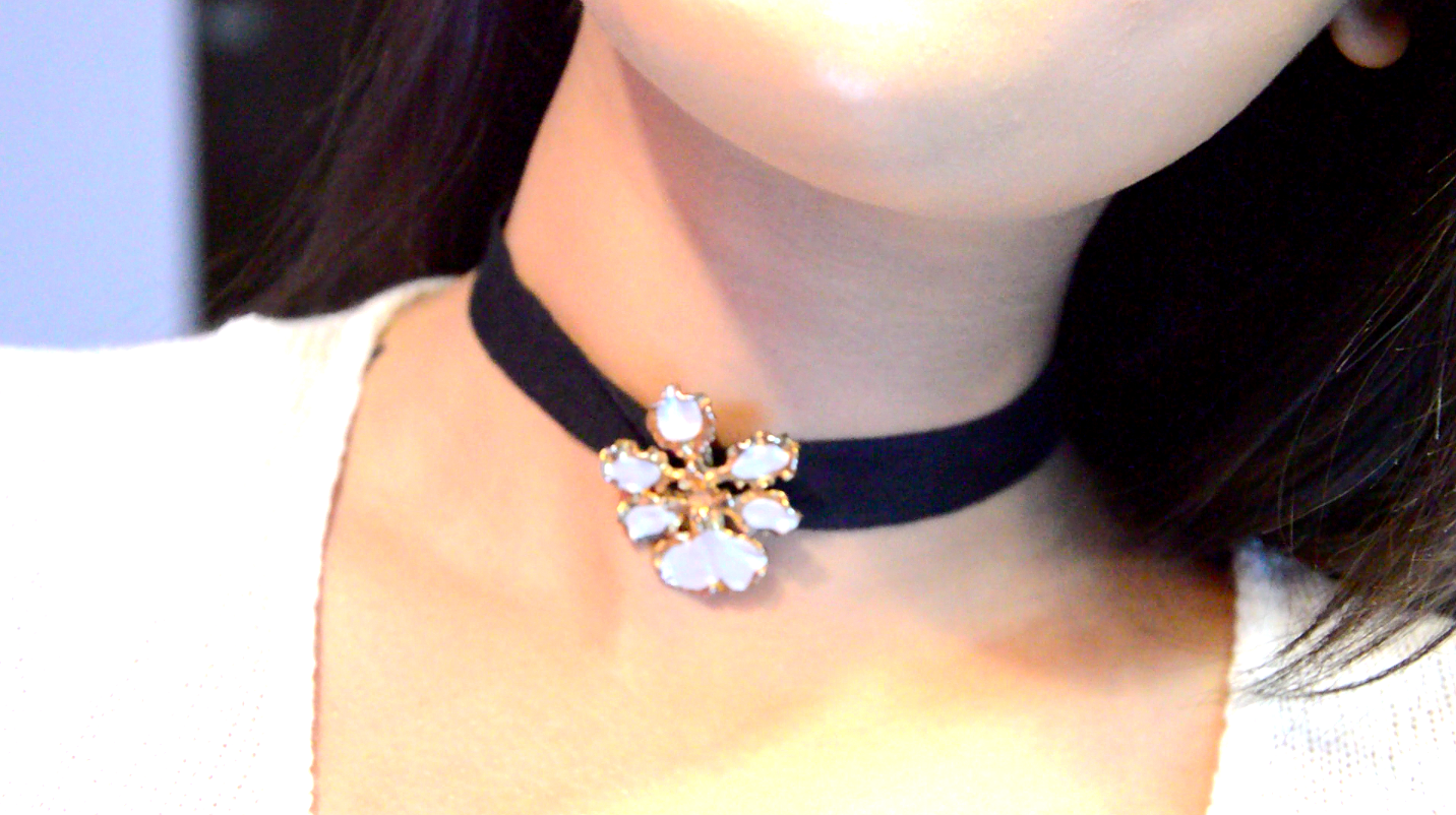 How to weave a choker 41